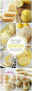 Best Lemon Dessert Recipes - 250 Lemon Recipes - RecipePin.com