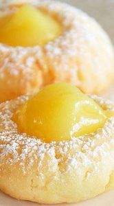LEMon Curd Cookies - 250 Lemon Recipes - RecipePin.com