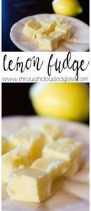 Through Clouded Glass: Lemon Fudge - 250 Lemon Recipes - RecipePin.com