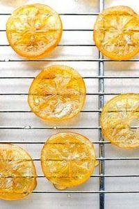 How to make candied lemons. These  - 250 Lemon Recipes - RecipePin.com