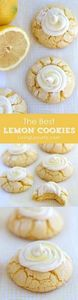 Lemon Crinkle Cookies Recipe with  - 250 Lemon Recipes - RecipePin.com