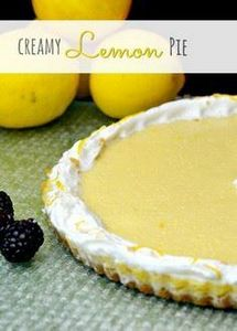 OMG!! This is AMAZING! Creamy Lemo - 250 Lemon Recipes - RecipePin.com