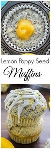 Ultimate Lemon Poppy Seed Muffins - 250 Lemon Recipes - RecipePin.com
