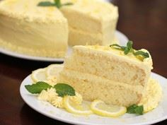 Luscious Lemonade Cake - 250 Lemon Recipes - RecipePin.com