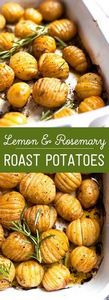 Rosemary and Lemon Roast Potatoes - 250 Lemon Recipes - RecipePin.com