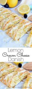 This flaky Lemon Cream Cheese Dani - 250 Lemon Recipes - RecipePin.com