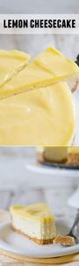 Lemon Cheesecake - 250 Lemon Recipes - RecipePin.com
