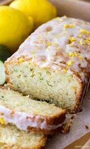 This simple zucchini bread recipe  - 250 Lemon Recipes - RecipePin.com