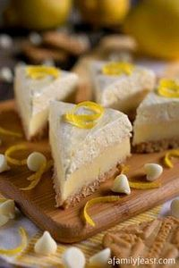 Lemon Meringue Pie Fudge & Des