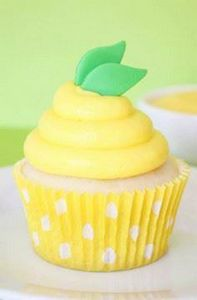 Lemon Pudding Cupcakes - 250 Lemon Recipes - RecipePin.com