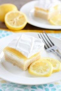 This Lemon Curd Dessert has a swee - 250 Lemon Recipes - RecipePin.com