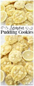 Lemon pudding cookies - 250 Lemon Recipes - RecipePin.com