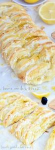 Lemon Cream Cheese Danish - 250 Lemon Recipes - RecipePin.com
