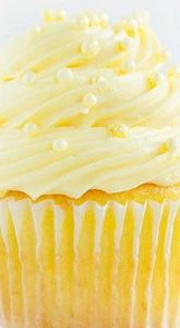 Easy Lemon Cupcakes with Lemon But - 250 Lemon Recipes - RecipePin.com