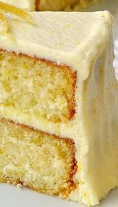 Lemon Velvet Cake Recipe ~ this le - 250 Lemon Recipes - RecipePin.com