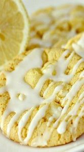 Iced Lemon Cake Mix Cookies - 250 Lemon Recipes - RecipePin.com