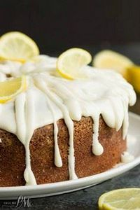 Trisha Yearwoods Lemon Pound Cake  - 250 Lemon Recipes - RecipePin.com