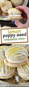 Lemon Poppy Seed Whoopie Pies - 250 Lemon Recipes - RecipePin.com