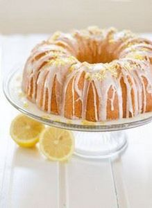 Moist Lemon Bundt Cake | Amy Kay's - 250 Lemon Recipes - RecipePin.com