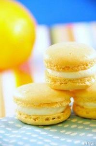 meyer lemon macrons with limoncell - 250 Lemon Recipes - RecipePin.com