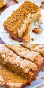 Soft Vegan Pumpkin Bread with Brow - 380 Non-Dairy Recipes - RecipePin.com
