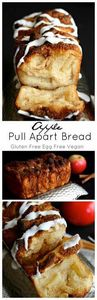 Apple Pull Apart Bread (gluten fre - 380 Non-Dairy Recipes - RecipePin.com
