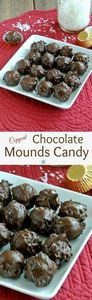 Chocolate Mounds Candy Balls recip - 380 Non-Dairy Recipes - RecipePin.com