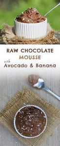 Chocolate avocado mouse_PIN - 380 Non-Dairy Recipes - RecipePin.com