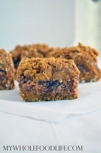 Pumpkin Pecan Date Bars - My Whole - 380 Non-Dairy Recipes - RecipePin.com