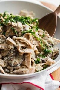 Cauli-Power Fettuccine Alfredo - v - 380 Non-Dairy Recipes - RecipePin.com
