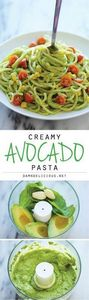 Avocado Pasta - The easiest, most - 380 Non-Dairy Recipes - RecipePin.com