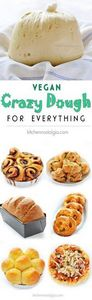 Vegan Crazy Dough for Everything - - 380 Non-Dairy Recipes - RecipePin.com
