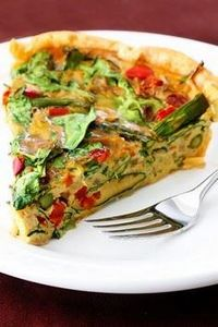 dairy free quiche - made for dinne - 380 Non-Dairy Recipes - RecipePin.com
