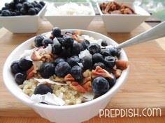 Blueberry-Pecan Quinoa Breakfast B - 380 Non-Dairy Recipes - RecipePin.com