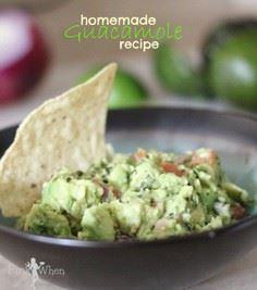 Homemade Guacamole Recipe perfect - 380 Non-Dairy Recipes - RecipePin.com