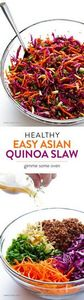 Easy Asian Quinoa Salad -- quick a - 380 Non-Dairy Recipes - RecipePin.com