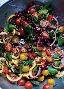 Tomato and roasted lemon salad - 380 Non-Dairy Recipes - RecipePin.com