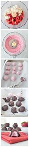 Strawberry Creme Truffles. Only 5 - 380 Non-Dairy Recipes - RecipePin.com