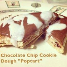 "Chocolate Cookie Dough ""Poptart"" - 380 Non-Dairy Recipes - RecipePin.com"