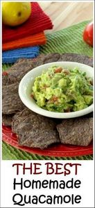 Homemade quacamole dip is so delic - 380 Non-Dairy Recipes - RecipePin.com