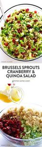 Brussels Sprouts, Cranberry & - 380 Non-Dairy Recipes - RecipePin.com