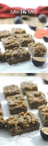 Raw Fig Bars - a delicious and hea - 380 Non-Dairy Recipes - RecipePin.com