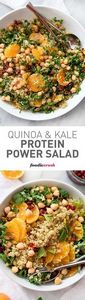 Quinoa, chickpeas (garbanzo beans) - 380 Non-Dairy Recipes - RecipePin.com