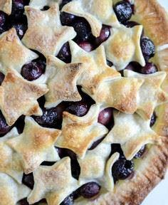 sweet cherry pie with amaretto whi - 250 Pie Recipes + Tart Recipes - RecipePin.com