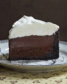 Mississippi Mud Pie-Its been awhil - 250 Pie Recipes + Tart Recipes - RecipePin.com