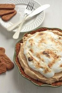 Biscoff Pie with Maple Whiskey Mal - 250 Pie Recipes + Tart Recipes - RecipePin.com