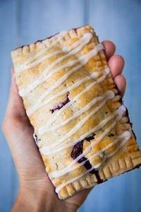 Blueberry Hand Pies by @Jaclyn {Co - 250 Pie Recipes + Tart Recipes - RecipePin.com