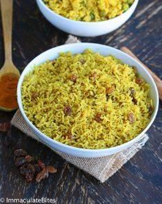 Indian Style Yellow Rice and South - 275 Rice Recipes - RecipePin.com