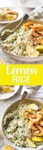 This Lemon Rice Pilaf is so delici - 275 Rice Recipes - RecipePin.com