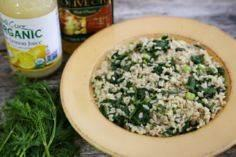 Simple Spinach and Dill Brown Rice - 275 Rice Recipes - RecipePin.com